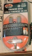 FIREWIRE GOLD 14' Feet 6-pin IEEE 1394 GS-14FW64 Geek Squad customizer rings inc