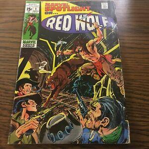 Marvel Spotlight #1 VF-NM Marvel Bronze Age Key Intro/Origin Red Wolf  (135)