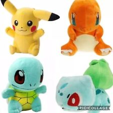 NEW Pokemon Plush Characters Stuffed Animal Toys Pikachu Pocket Monsters Dolls