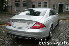 for Painted 2006-11 Mercedes-Benz W W219 CLS-Class CLS550 550 63 Trunk Spoiler