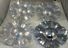 Limited Wheels Chrome Custom Wheel Center Caps Set of 4 # C10801/M-402 NEW!