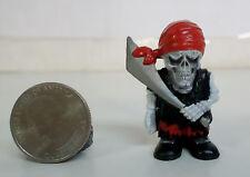 "Bone Hedz Pirate Figure 2"" Billy Bones Skull Skeleton New Bulk"