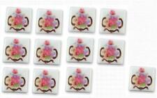 Dollhouse Porcelain Tiles 1.791/1 Reutter Dresden Rose Miniature