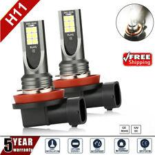 2Pcs H11 H8 H9 Car LED Headlight 24000LM 100W Kit Hi Low Beam Bulb 6500K