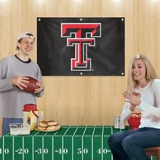 Tailgate Party Kit TEXAS TECH RED RAIDERS Party Animal W/Banner & Tablecloth