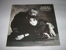 BARBARA DEPARDIEU DOUBLE LP FRANCE LILY PASSION
