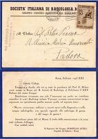 SP 434 - 17.02.1943 – REGNO V. E. III ROSSINI DA ROMA ISOLATO.