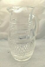 Lovely Very Rare Waterford Crystal Castletown Pitcher Jug Made In Ireland SU1291