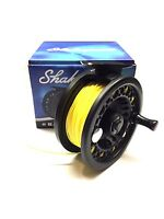 Shakespeare Omni Fly Fishing Reel Line , Backing + Leader fitted Tan or Yellow