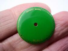 Green Watch Dial for Ernest Borel Cocktail Watch Kaleidoscope Vintage Mens 20mm