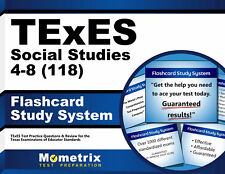 TExES Social Studies 4-8 (118) Flashcard Study System