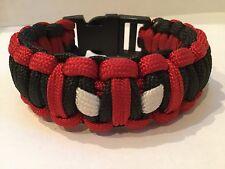 DEADPOOL 550 Paracord Survival Bracele Solomon/Cobra knot