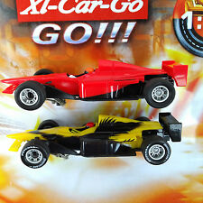 Carrera Go 2x INDYCARS Slotcar with Dectail Set New unboxed 1/43