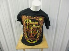 Vintage 2009 Allman Brothers Band 40Th Anniv. Concert Tour W/ Date M Black Shirt