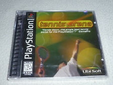 FACTORY SEALED BRAND NEW PLAYSTATION PS1 VIDEO GAME TENNIS ARENA UBI SOFT NFS >>