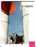 Le Leicaiste French Magazine No. 16 1953 Louis Dellue VG 040817nonjhe