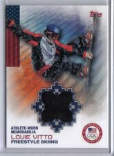 Louie Vitto 2014 Topps Winter Olympics Memorabilia Relic OR-LVI Freestyle Skiing