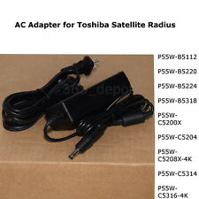 Adapter Power Charger For Toshiba Satellite Radius P55W Series B5112 B5220 other