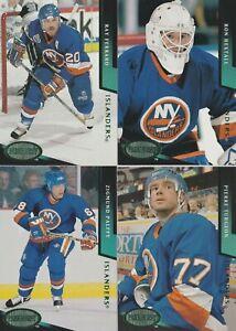 1993/94 New York Islanders Parkhurst Emerald Ice Parallel Team Set Of 20 Cards