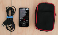 Sony Walkman NWZ-E436F rot, 4GB, MP3 und Multimedia-Player