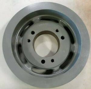 """AMEC 3C105-E 3-Groove Steel Pulley / Sheave """"C"""" style 10.90"""" OD  NEW"""