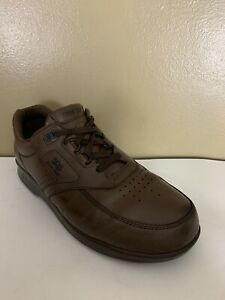 SAS Time Out Mens Size 9 M Brown Tripad Comfort Leather Walking Diabetic Shoes