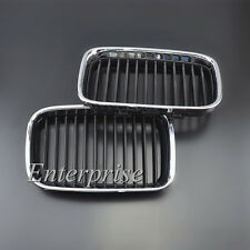 Pair Front Grill Grille Kidney for BMW 3 series E36 316 318 325 320 323 M3 92-96
