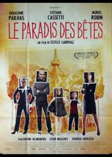 affiche du film PARADIS DES BETES (LE) 120x160 cm