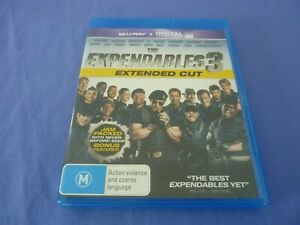 The Expendables 3 Blu-Ray Stallone Statham Banderas Li Snipes Free Tracked
