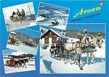 B31711 Arosa Pferdeschlitten multi vues switzerland