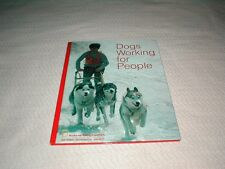 Vintage 1972 National Geographic Society books Dogs Working for people