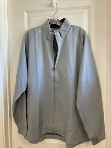 Nwt adiPure By Adidas Lightweight Wind Jacket Mens Size XL Gray