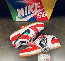 New listing Size 10 - Nike SB Dunk Low x Frame Skate Red 2020* Brand New In Hand Ship Fast*