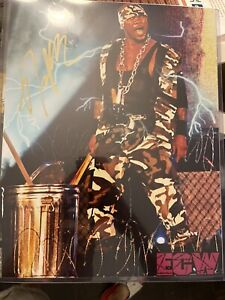 New Jack Signed Auto Autograph 11x14 WWE ECW Photo With Proof