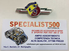 FIAT   500 -126  FREGIO SMALTATO FULMINE TRICOLORE ABARTH
