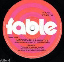 JIGSAW Mademoiselle Ninette  *AUSTRALIA ORIGINAL FABLE LABEL SINGLE 1972*