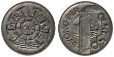 BUONO PER 50 CENTESIMI LARIANA 1944 SOCIETA' DI NAVIGAZIONE A VAPORE TOKEN#6453A