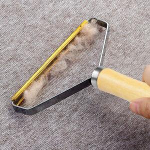 Reusable Lint Remover Pet Fur Clothes Fuzz Shaver Manual Tool For Coat Carpet 2