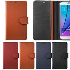 Limit Genuine Leather Wallet Case for LG G7 G6 G5 G4 G3 V30 Q6 Stylus2 K10 Power