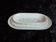 Rosenthal Lotus Jade 3 Platten Servierplatte Platte Schale