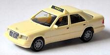 Mercedes benz clase e taxi e320 w124 2 Mopf sedán 1993-95 - 1:87 Herpa