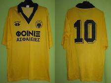 Maillot AEK Athens Vintage Jersey Football Athènes Oldschool Porte #10 - XL
