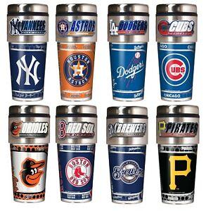 MLB - Baseball - Travel Tumbler - 16-Ounce s