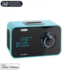 Radio portatile DAB FM/DAB CON DOCKING STATION IPHONE-IPOD-Sveglia-AUX