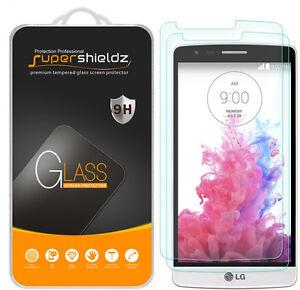 2X Supershieldz Tempered Glass Screen Protector Shield Saver for LG G3