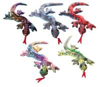 SMALL Salamander Lizard Sand Animal Toy Party Bag Stocking Filler Stress Relief