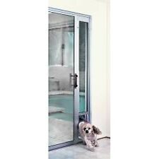 Petsafe Pet Dog Cat Aluminium Sliding Door Panel Patio Door w/ Flap Large