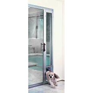 Petsafe Pet Dog Cat Aluminium Sliding Door Panel Patio Door w/ Flap Large