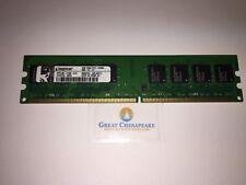 Kingston HP5189-2180-ELC 2GB PC2-6400U 2RX8 Desktop Memory TESTED!