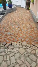 Fix & Fertig Feste Fuge, Fugenmörtel,Pflasterfugenmörtel Fix, 400 kg Terracotta